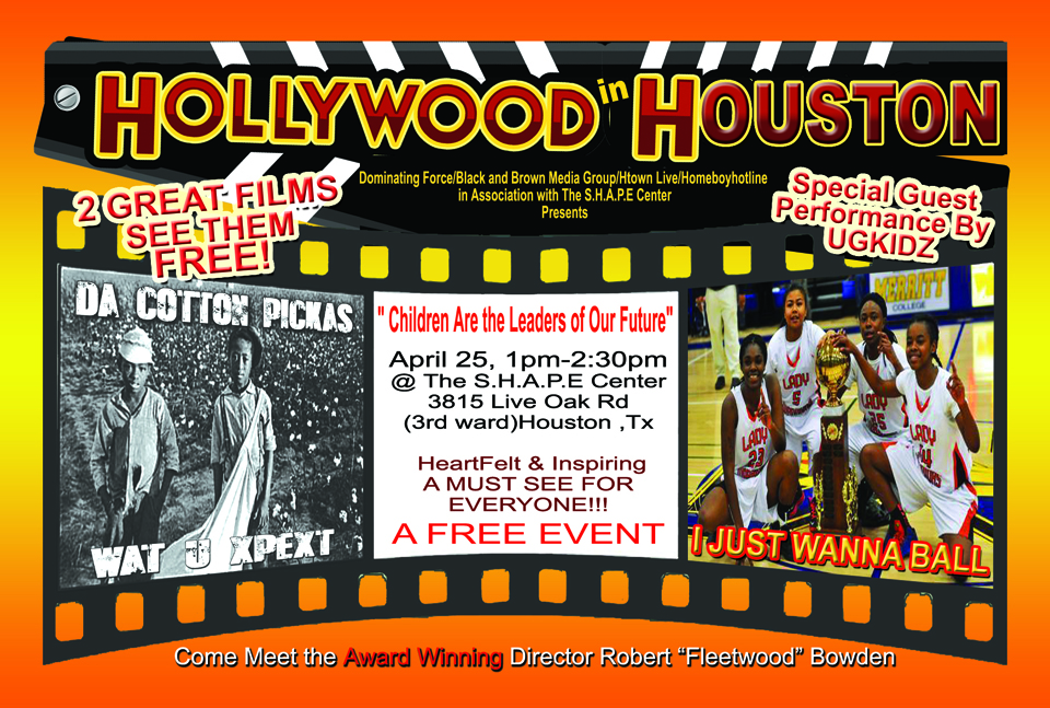 Hollywood in Houston poster, web