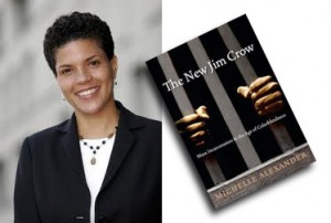 Michelle Alexander and her book, a must-read for everyone, especially those behind enemy lines