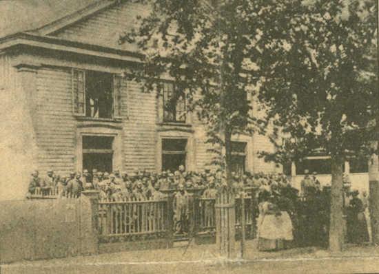Original wooden Emanuel AME Church, Charleston, S.C.
