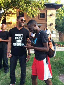 Texas-pool-party-protest-Fight-back-like-Ferguson-060815-by-Elroy-Johnson1-225x300, Officer of the Year Eric Casebolt's brutality inspires courageous youth to fight back, National News & Views