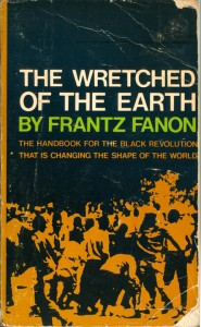 "A well worn copy of ""The Wretched of the Earth"" by Frantz Fanon"