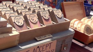 Get your unicorn poop soap at the Treasure Island Flea. – Photo: Carol Harvey
