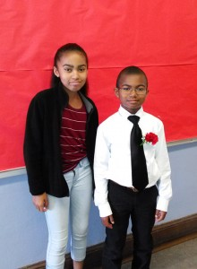 Wanda's niece and nephew, Wilda and Wilfred, are pictured at Wilfred's graduation. Wilda is in Puerto Rico now on a service learning trip with her school.
