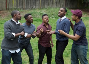 """Choir Boy"" features a plethora of talented young Black men. – Photo: Ed Smith"