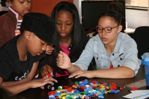 Black Girls Code is bringing their robot to Black Expo. They're good at Legos too.