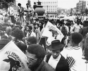 Black Panther Party rally in Detroit