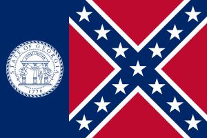 Georgia Flag 1956