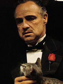 "Brando as ""The Godfather"""