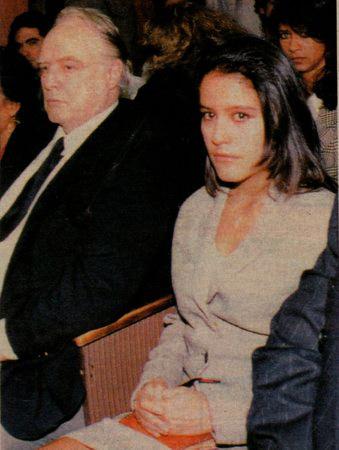 Marlon and Rebecca Brando