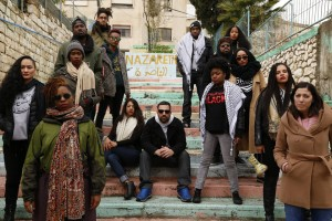 Representatives of Dream Defenders, Black Lives Matter and activists from Ferguson visit Palestine in January 2015.