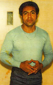 Hugo Pinell in 1982 – he stayed trim and fit through 45 years of solitary confinement, testament to the extraordinary strength of his spirit.