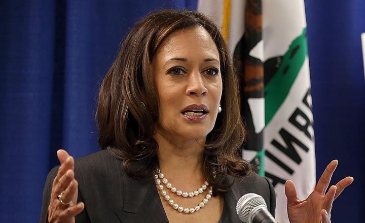 California Attorney General Kamala Harris kicked off her U.S. Senate campaign with a private fundraiser in San Francisco April 1, 2015. – Photo: CBS San Francisco