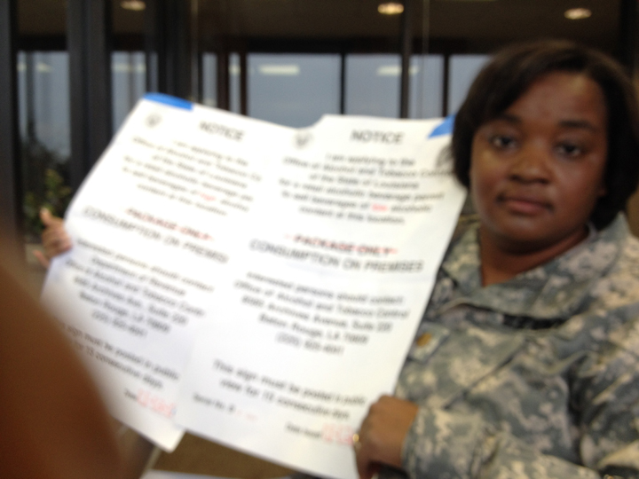 Maj. Tracy Riley in uniform