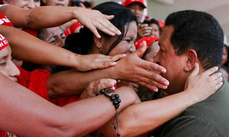 Poor women in Venezuela felt Chavez's sincerity when he acted on their priorities. – Photo: Prensa PSUV, EPA