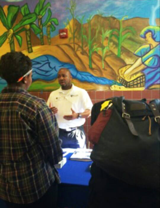 Dillard-University-recruiter-speaks-SFUSD-HBCU-College-Fair-2014, It takes a village to send African American students to college!, Local News & Views