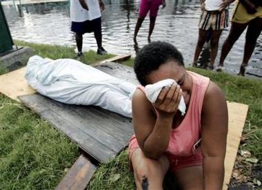 Katrina-death-083005, From Katrina to Ferguson, National News & Views