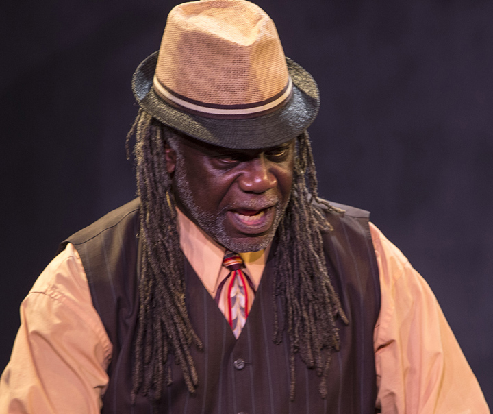Reginald Wilkins as Elmore – Photo: Malaika H Kambon