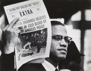 "Malcolm X 1962-63: ""If you're not ready to die for it, take the word freedom out of your vocabulary."" – Photo: Gordon Parks"