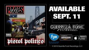 Paris-Pistol-Politics-available-091115-300x169, Bay Area rapper Paris releases 'Pistol Politics', Culture Currents