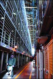 San Quentin East Block death row