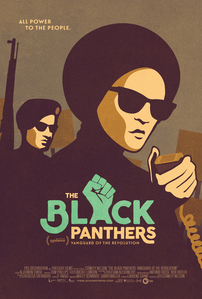 The-Black-Panthers-poster-web, 'The Black Panthers: Vanguard of the Revolution', Culture Currents
