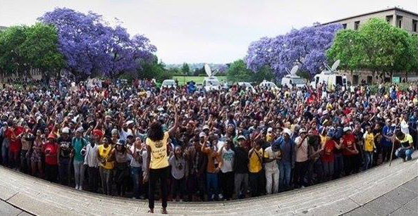 10000-students-protest-outside-Union-Bldgs-Cape-Town-South-Africa-102315, Victory for South African youth: Besieged Zuma announces 0% university fee increases, World News & Views