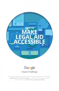 Bayview Legal Google Impact Challenge poster