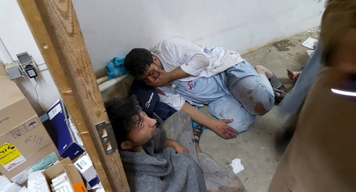 Médecins Sans Frontières (MSF), Doctors without Borders, said it would pull out of Kunduz, Afghanistan, after the attack by the U.S. Air Force with an AC-130 gunship. They also described the attack as a war crime that should be investigated by a team independent of the U.S.
