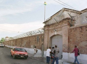 "This is St. Catherine's Prison in Kingston, Jamaica. Britain is spending £3million to modernize Jamaican and Nigerian prisons in an effort to save £420 million a year imprisoning 900 British residents of Jamaican descent and 600 of Nigerian descent in British prisons by ""sending them home."" However, British law requires the prisoner to agree to the transfer, and many Black prisoners were born and raised in Britain and have few ties to their forefathers' homelands."