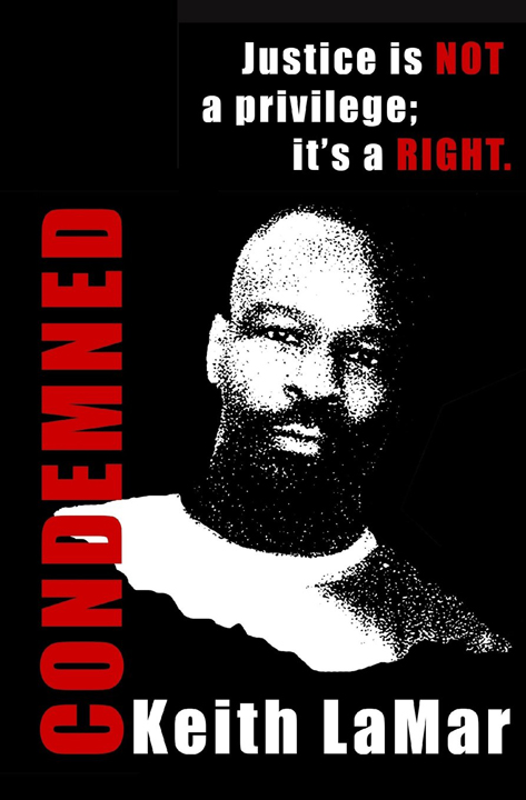Condemned-by-Keith-LaMar-Bomani-Shakur-cover, Keith LaMar (Bomani Shakur) and other Lucasville prisoners on hunger strike since Nov. 9, Behind Enemy Lines