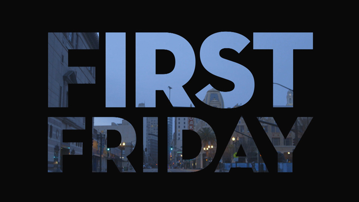 'First Friday' title card