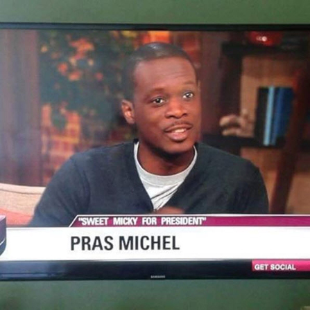 """Pras Michel discusses his film, """"Sweet Micky for President,"""" on Good Day LA."""