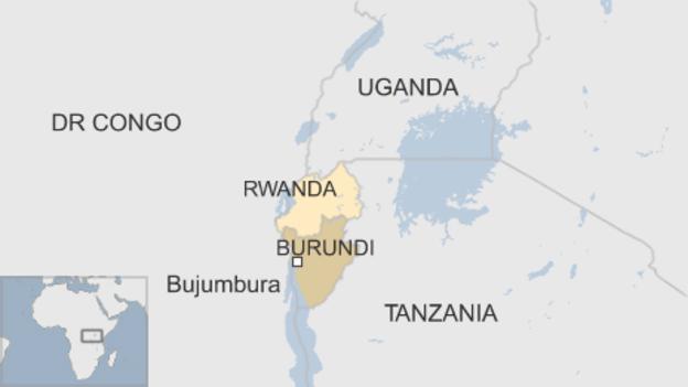 Rwanda-Burundi-map, Will the West create its next failed state in Burundi?, World News & Views