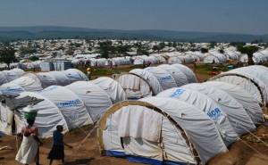 The UNHCR built Mahama Refugee Camp on Rwandan land near the Rwandan-Burundian border.