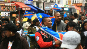 Congolese in Paris protest President Kabila in February 2015. – Photo: Jelena Prtoric