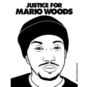 Justice for Mario Woods graphic