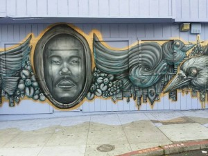 KENNY-MURAL-IN-FRISCO-300x225, Kenneth Harding Jr. Foundation third annual coat drive Dec. 18 in Oakland, Dec. 20 in SF, Culture Currents