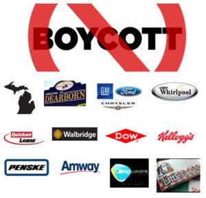 Boycott-major-Michigan-corporations-300x288, Boycott Michigan! Jail Snyder, cronies for Flint lead poisoning, domestic terrorism, racism, National News & Views