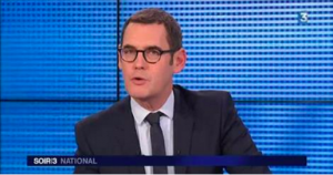 France 3's Evening 3 newscaster apologizes for airing the fraudulent video.