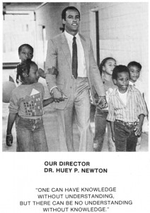 Huey Newton was devoted to the children and the Panther programs that served them, especially the Oakland Community School.