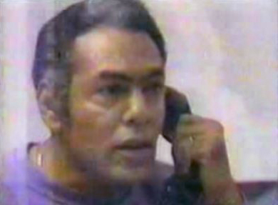"""Hugo """"Yogi"""" Pinell was interviewed on TV in 1983."""