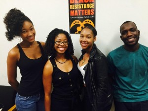 These Laney College Black Student Union officers will be going to Ghana in 2016.