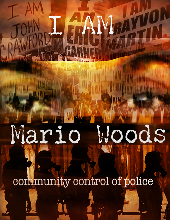 """I am Mario Woods"" – Art: Miles Stryker"