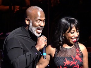 BeBe Winans and Oleta Adams perform in the San Francisco Symphony's 22nd annual Colors of Christmas gala at Davies Symphony Hall in mid-December.