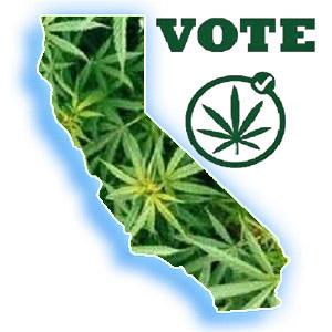 Vote Cali Marijuana Initiative