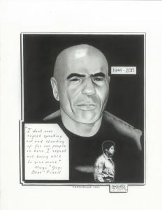 Hugo-Yogi-Bear-Pinell-art-by-Kevin-Rashid-Johnson-web-232x300, Love and lessons in memory of Comrade Hugo 'Yogi Bear' Pinell, Behind Enemy Lines