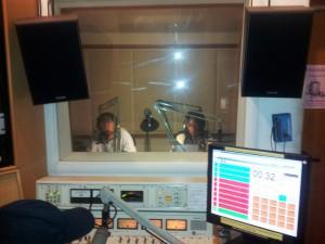 KPFA Weekend News Anchors David Rosenberg and Loula Acomous