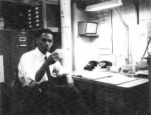 Muhammad al-Kareem in his office back in the day
