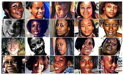 When LAPD arrested Grim Sleeper suspect Lonnie Franklin Jr. in July 2010 and charged him with 10 murders, they found scores of photos of women in his home. These are a few of them. The pictures were published and distributed in hopes of identifying more victims.