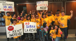 "In the heat of the landlord-tenant battle last summer, CAA, the landlords' organization wrote ominously: ""As the push to adopt rent control and just-cause eviction in Richmond gains traction, it's vital that members of the rental housing industry band together and voice their objections. … Advocates for rent control certainly will mount a show of force, wearing yellow shirts, carrying signs and raring to testify. … Rent control is a hot topic in several municipalities in the Bay Area, and it's been brewing for months in Richmond. If it's approved here, the rent control movement gains dangerous momentum."""